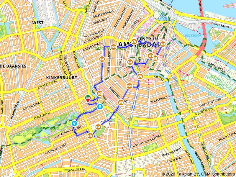 Rondje geheimen en highlights van Amsterdam