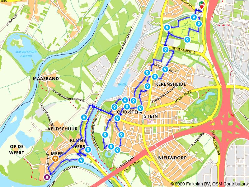 Rondje wandelen door Oud-Stein