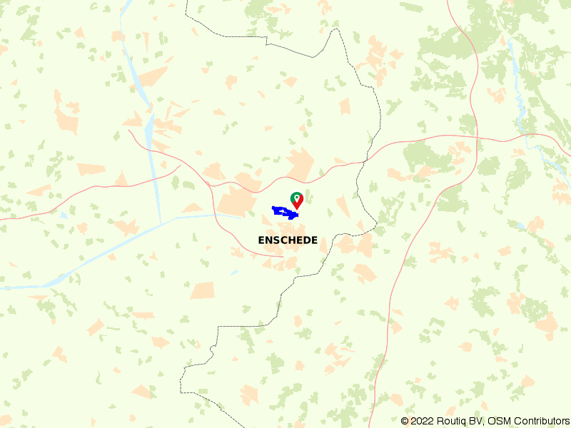Rondje Zuidkamp en Hof Espelo vanuit Lonneker