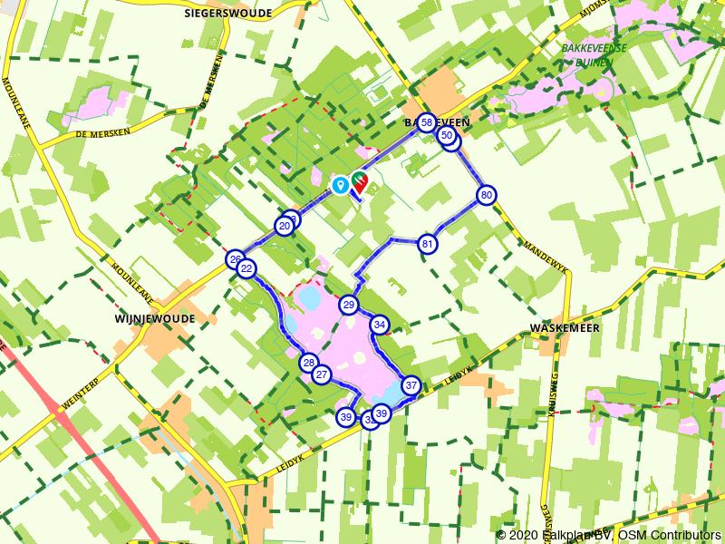 Rondje Friese Wouden: Waskmar en de Duurswouderheide