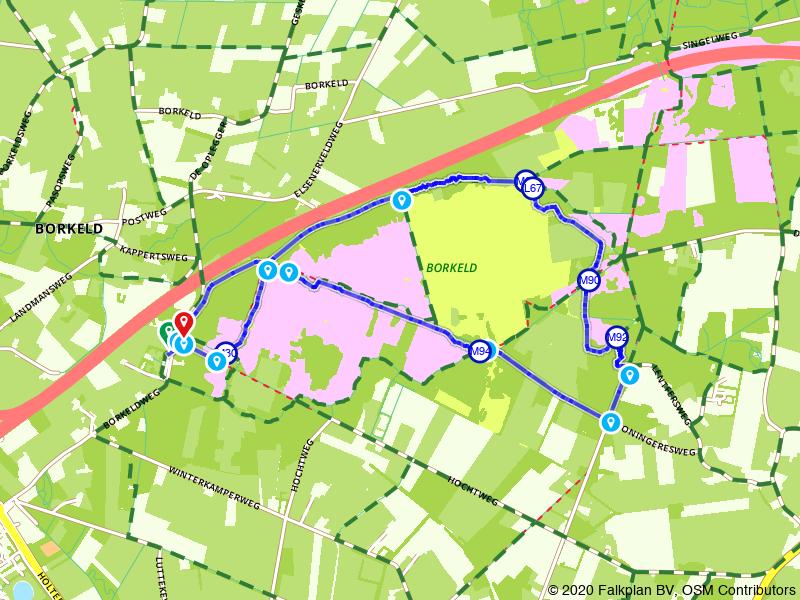 wandeling Borkeld