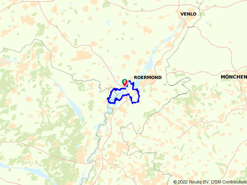 Rondje Maasplassen: Thorn en Stevensweert vanuit Wessem