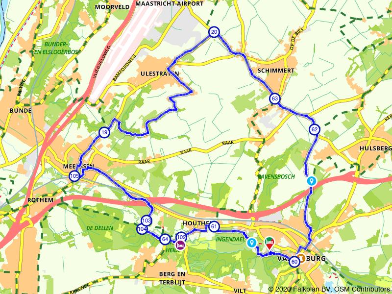 Rondje Schimmert vanuit Valkenburg