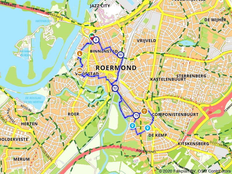Rondje Roermond en het Oude Kerkhof