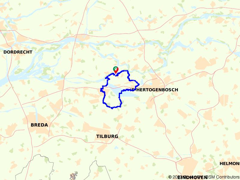Rondje Loonse Drunense Duinen vanuit Heusden