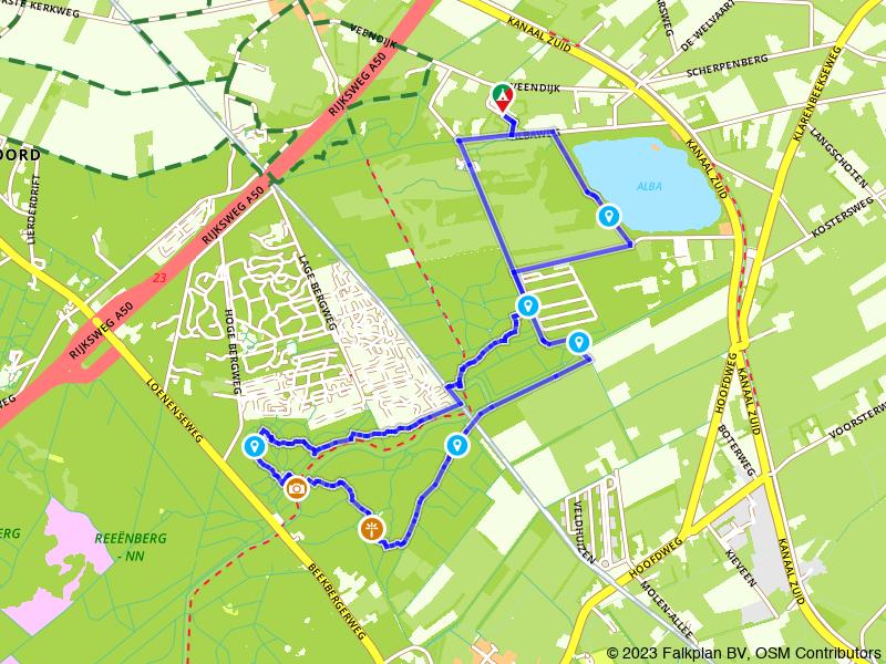 Rondje Vinkenkamp Loenense Waterval