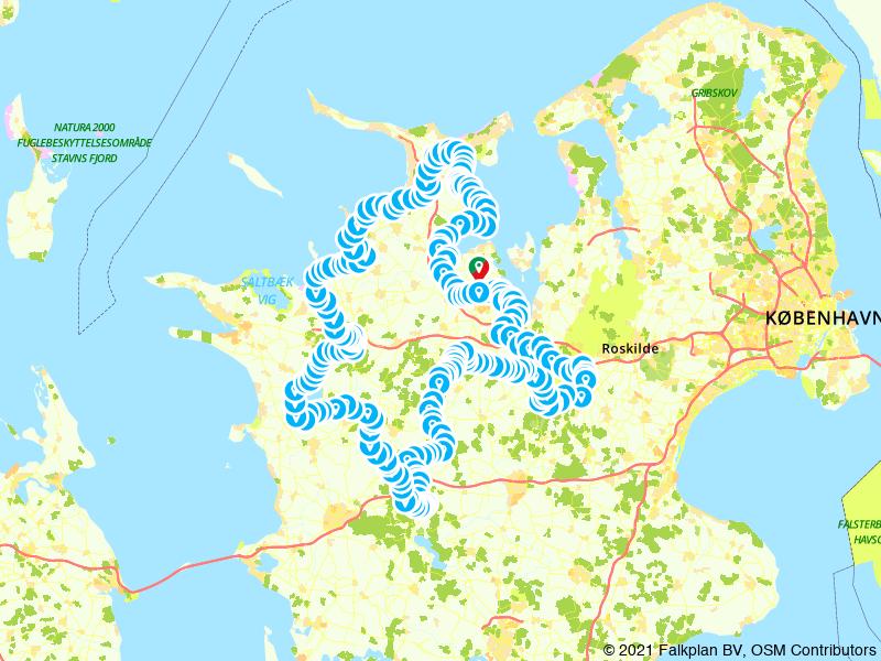 Denemarken: Op de fiets door de IJstijd (Seeland)