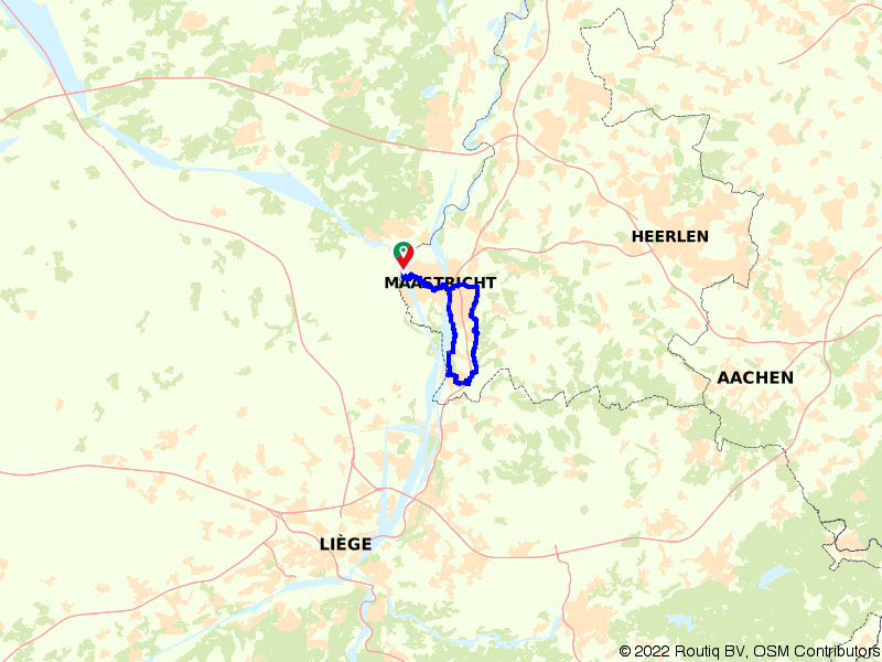 Rondje Eijsden langs de Maas