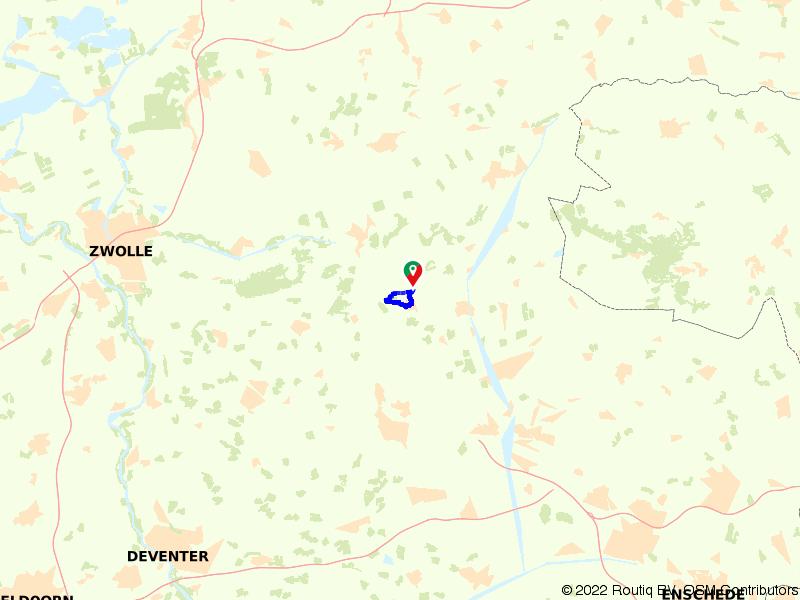 Rondje Den Ham en Luistersteen Liberation Route