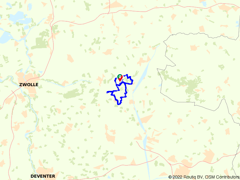 Route Vechtdal, Den Ham en Kasteel Eerde