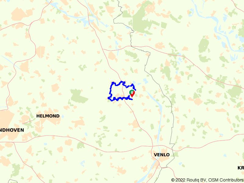 E-choppertour de Witte Vennen   Holthees   Overloon   Venray