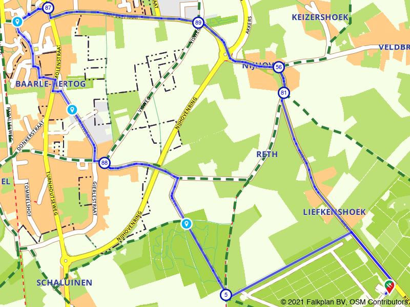 Rondje enclavedorp Baarle