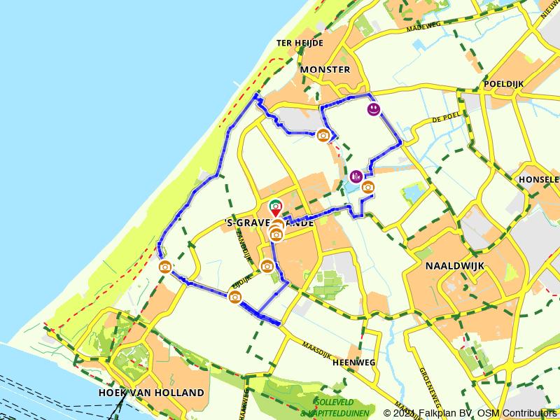 Paasbrunchfietsen - Route 1 ('s Gravenzande)