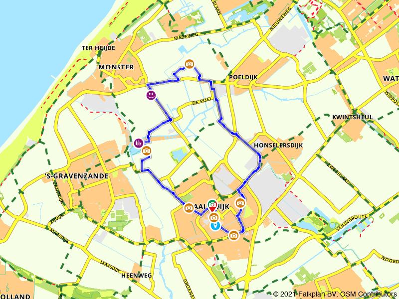 Paasbrunchfietsen - Route 2 (Naaldwijk e.o.)