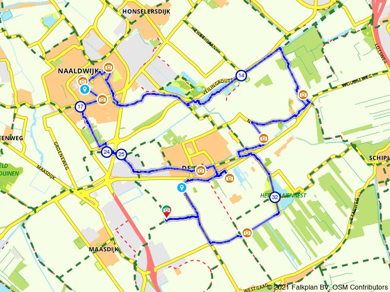 Paasbrunchfietsen - Route 4 (De Lier e.o.)