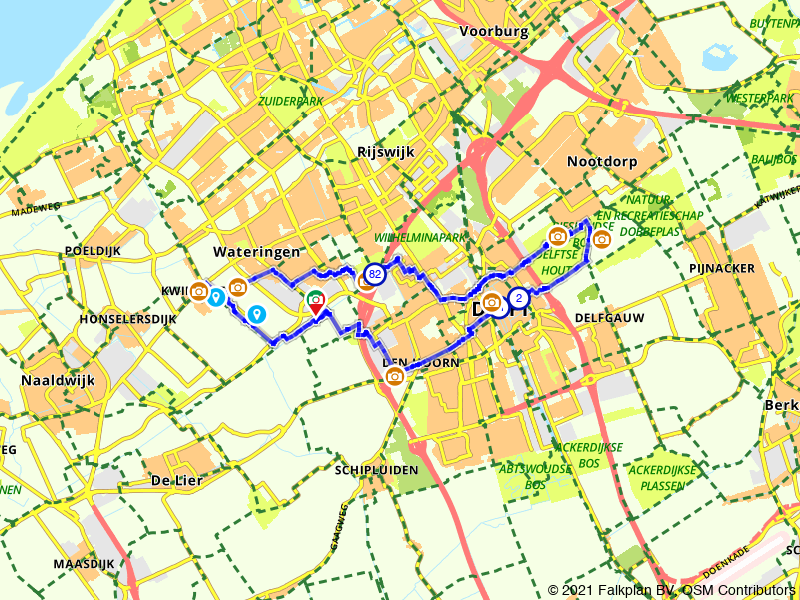 Paasbrunchfietsen - Route 6 (Den Hoorn e.o.)