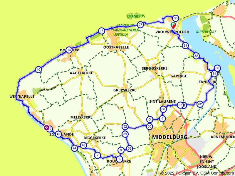 Rondje Walcheren: Zoutelande, West-Kapelle en Domburg
