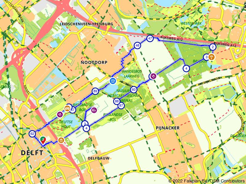 Verrassend groen fietsen tussen Delft en Zoetermeer