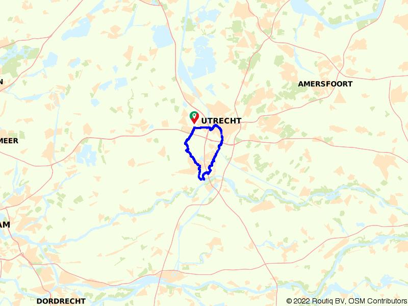 Nieuwegein en IJsselstein 30 km