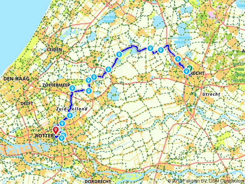 1. Utrecht - Rotterdam - Amstel Radler, Tour de Hollande