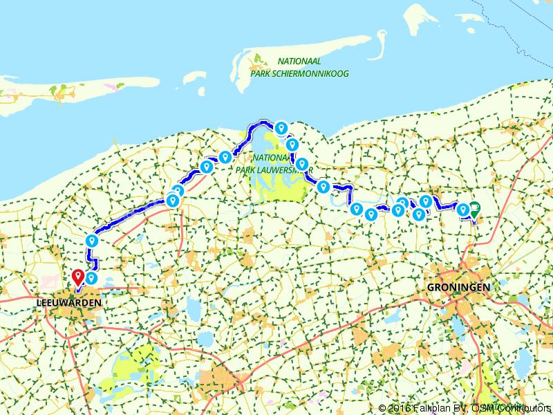16. Bedum - Leeuwarden - Amstel Radler, Tour de Hollande
