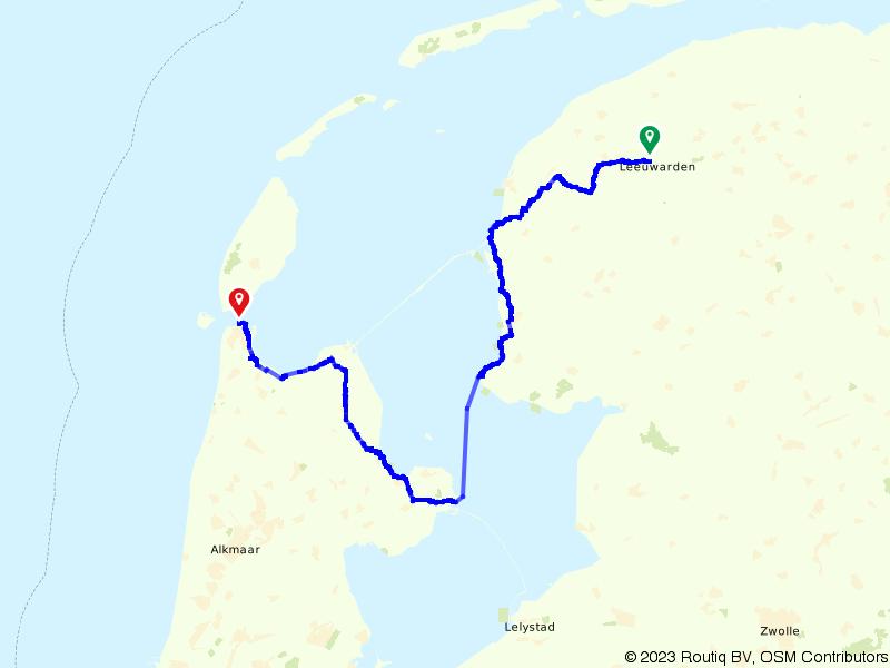 17. Leeuwarden - Den Helder - Amstel Radler, Tour de Hollande