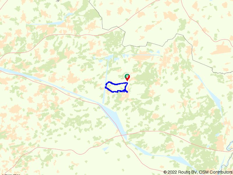 Fietsen in de rustige omgeving van Leopoldsburg
