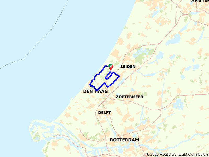 Rondje landgoederen bij Wassenaar