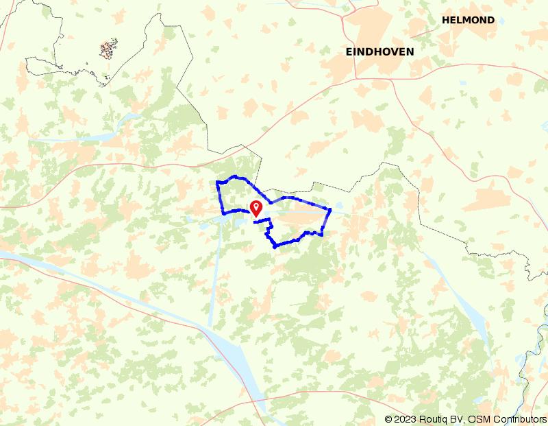 Verken het buitengebied van Lommel
