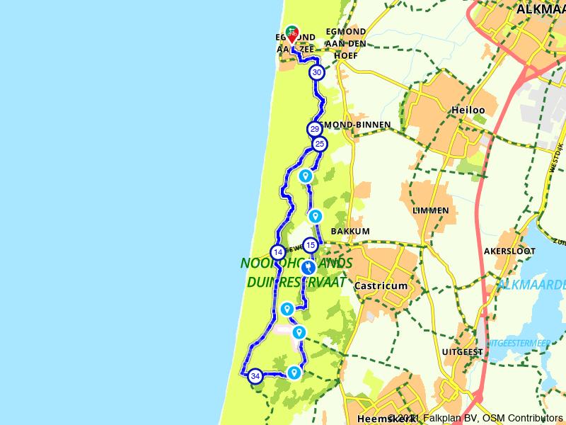 Rondje Noordhollands Duinreservaat: langs duinmeer en bezoekerscentrum