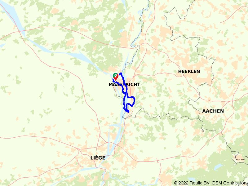 Rondje Maastricht, Eijsden en Sint Pietersberg