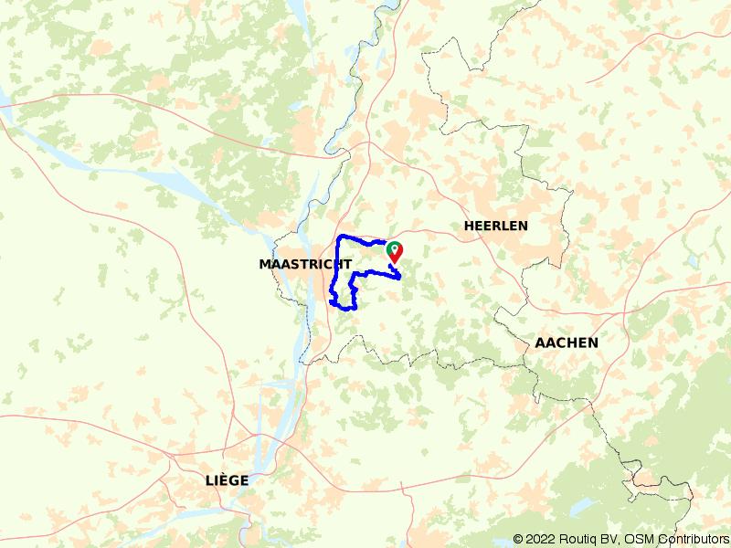 Rondje Savelsbos, Geuldal en Valkenburg