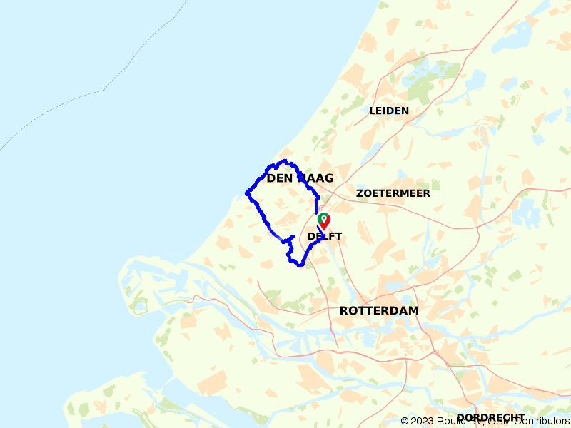 Van Delft naar stad, strand en Midden Delfland