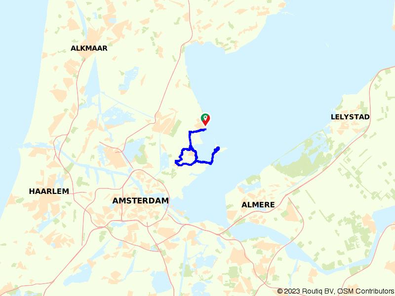 Rondje Marken, Monnickendam en Waterland