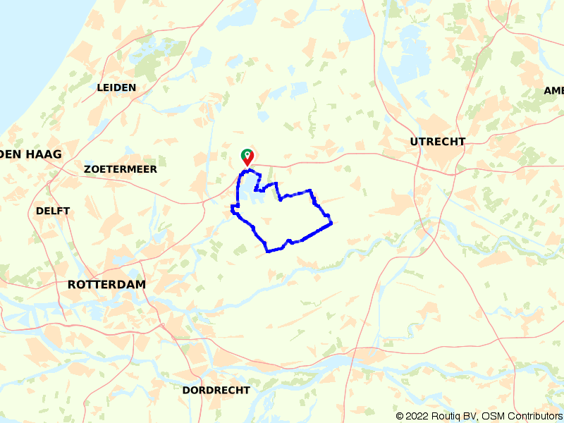 Rondje Gouda, Oudewater en Driebruggen