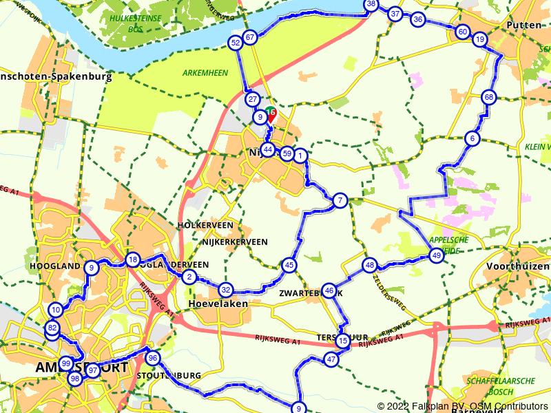 E-bike route Gelderse Vallei vanuit Nijkerk
