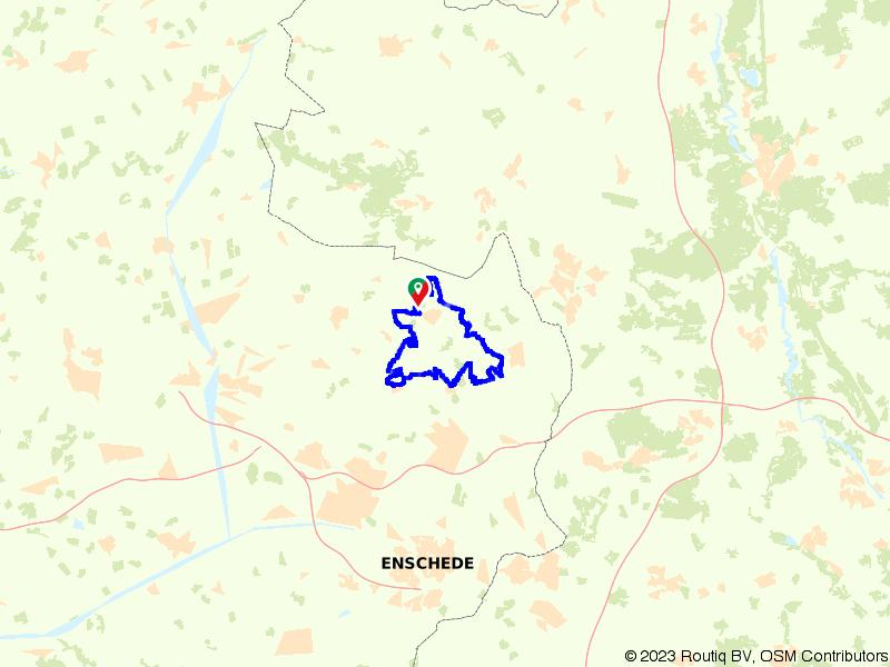 Rondje Springendal, Singraven en Stift van Weerselo