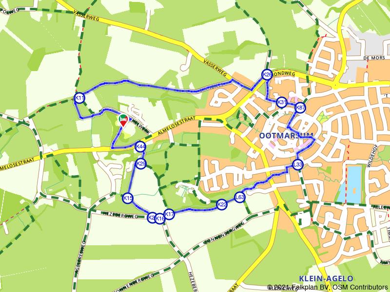 Rondje Ootmarsum en Kuiperberg