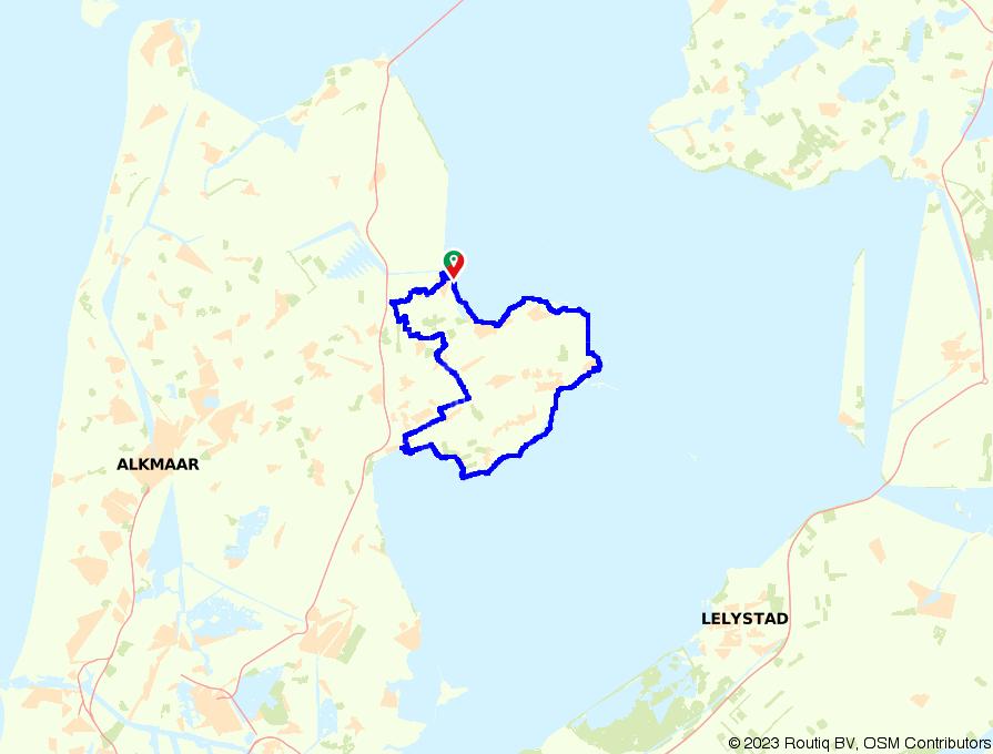 E-bike route: Hoorn en Enkhuizen vanuit Medemblik