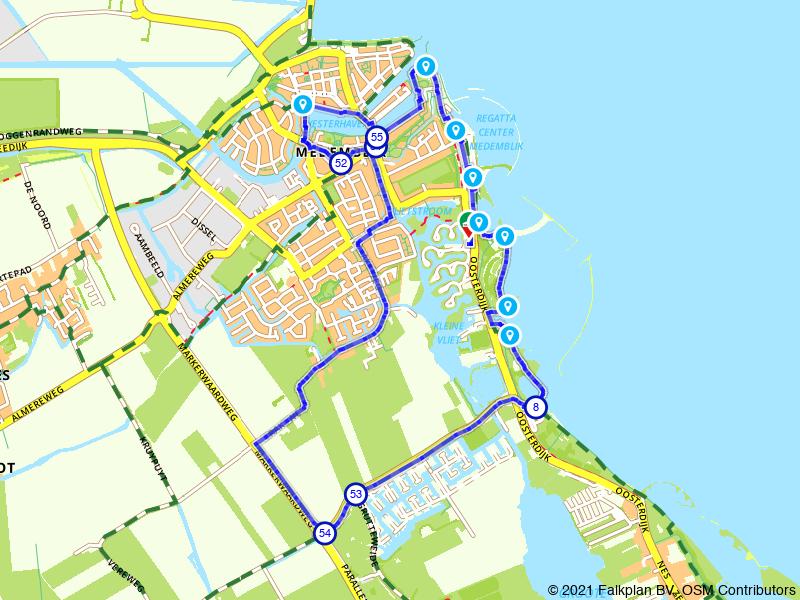 Rondje Medemblik en IJsselmeerdijk