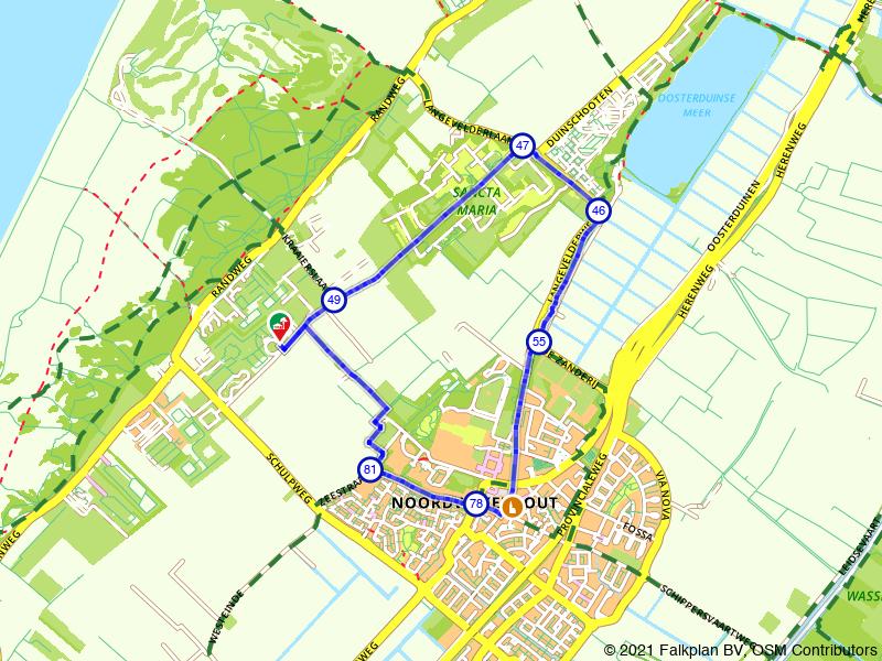 Rondje Sancta Maria en Noordwijkerhout