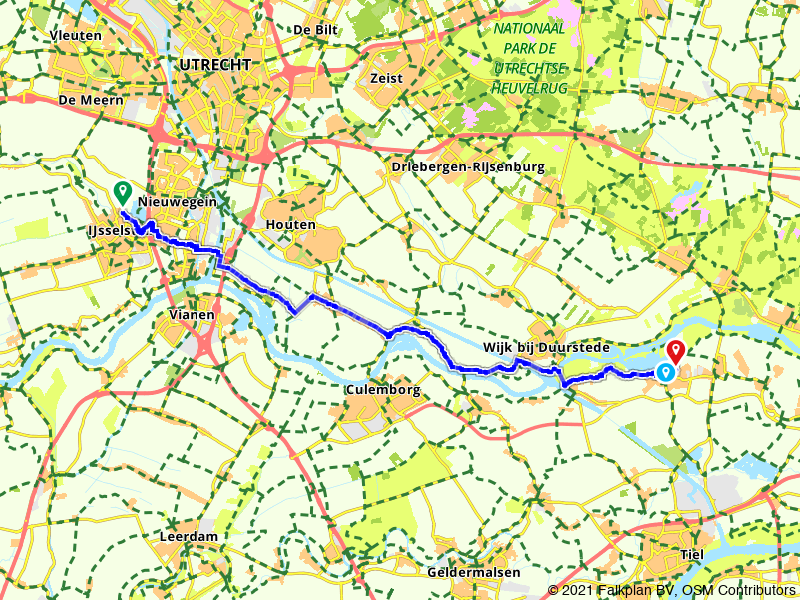 Van IJsselstein naar Maurik