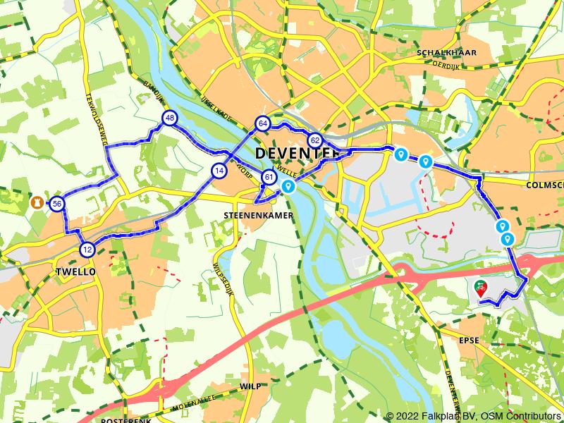 Rondje highlights van Twello, Terwolde en Deventer