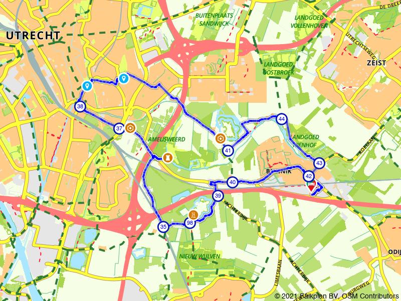 Historische bezienswaardigheden rondom Utrecht