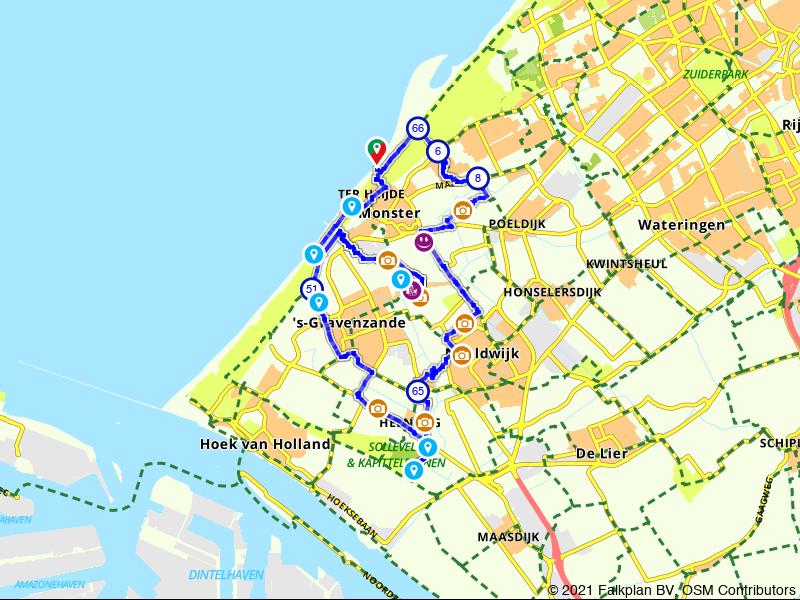 Courgettesoepfietsen in Nationaal Park Hollandse Duinen
