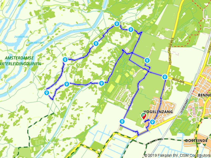 Rondje door de Amsterdamse Waterleidingduinen
