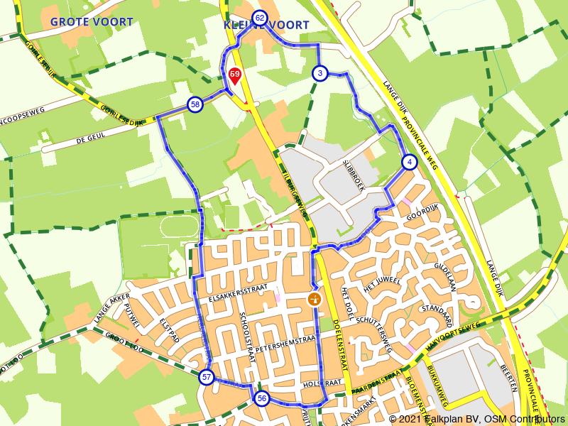 Rondje Vrijthof van Hilvarenbeek