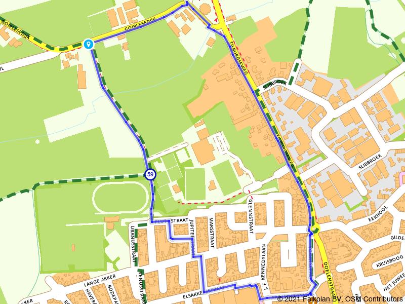 Rondje Doornboom in Hilvarenbeek