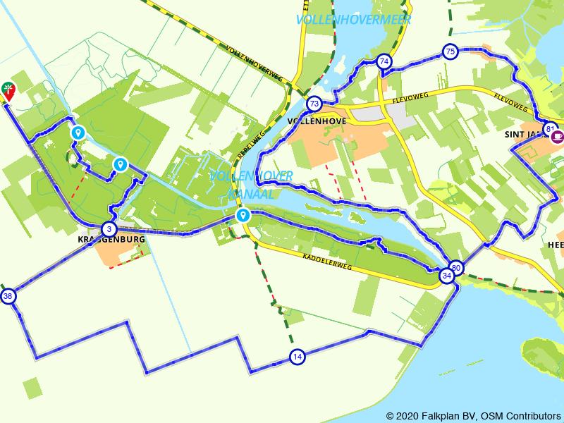 Rondje Kraggenburg, Vollenhove en St. Jansklooster
