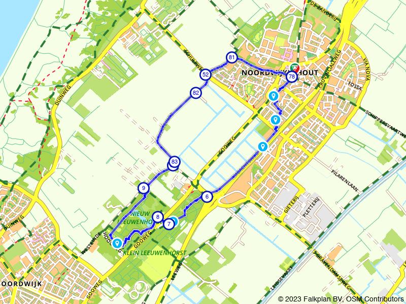 10.000 stappenwandeling - Het icoon van Noordwijkerhout
